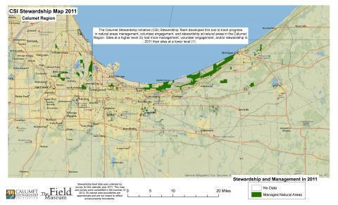 Stewardship Levels Map 2011